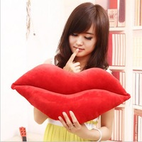 Free Shipping~ Wholesale 1 piece Sexy lips couples hold pillow pillow siesta Creative valentine's day gift