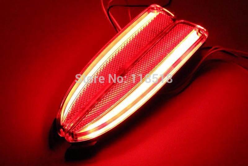 Reflector, LED Rear Bumper Light, rear fog lamp, Brake Light For mazda 3 axela 2014 with 3 functions guiding light novel design(China (Mainland))