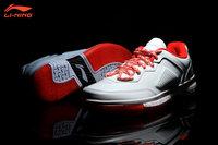 Li-Ning WoW I Way of Wade 1 Low Overtown Dwyane Wade Signature Basketball Shoes - White/Red