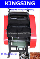High Efdiciency Scrap Cable Stripping Machine,With 10 Feed Hple KS-004A + Free shipping by DHL air express