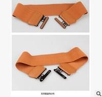 2014 fashion wild Ms. elastic girdle dress OL commuter belt buckle decorative belt