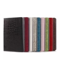 Wholesale Hot+New style good quality leather case for ipad 234 Dormancy holster stent drop shipping