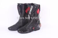 Motorcycle boots men SPEED Bikers Motocross racing moto boots pro biker Motorbike boot bike sidi shoes B1001