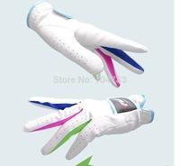 golf gloves children  golf gloves  super ciliated epithelium  breathable   wear resistance  child soft pink gloves