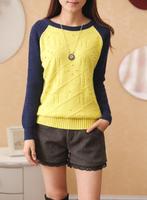 chidren girls sweater cotton wool