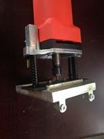 Plastic Window Water slot Milling Machine