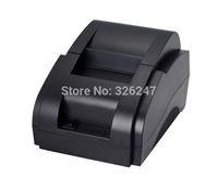 The new high-speed thermal printer  POS ticket printers  supermarket cash register receipt printer 58mm small ticket printer USB