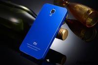 Hot sale xiaomi 4 MI4 Case Metal aluminum Ultrathin back Cover for xiaomi4 M4 Mobile phone case Free Shipping