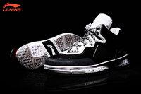 Li-Ning WoW I Way of Wade 1 Warrior Dwyane Wade Signature Basketball Shoes - Black/Cement Grey