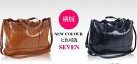 Free shipping/new 2014/bags/woman handbag/genuine leather/female bag/tote/shoulder bag lady/brand designer/vintage /Satchels