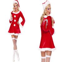 Homem Aranha Promote High Quality Ladies Clothing Exported To Europe, Christmas Costumes Santa Claus Princess Dress Gift Bags