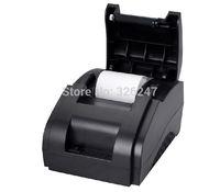 5 pieces High-speed thermal printer  POS ticket printers supermarket cash register receipt printer 58mm small ticket printer USB