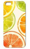 1PC Orange Lemon Juice Style Hard Back Cover Case for Iphone 5 5s   Free Shipping