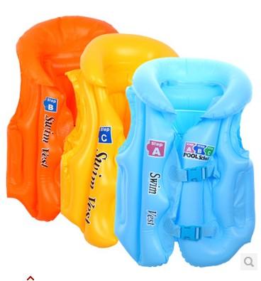Inflatable child swimwear baby vest life vest Large(China (Mainland))
