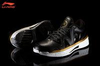 "Li-Ning WoW 2 Way of Wade 2 Low ""Black Gold"" Dwyane Wade Signature Basketball Shoes - Black/Gold"