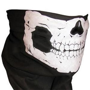 Wholesale Skull Design Multi Function Bandana Motorcycle Biker Face Mask Neck Tube Scarf Free Shipping(China (Mainland))