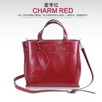 Free shipping/new 2014/bags/woman handbag/ leather/female bag/tote/shoulder bag lady/brand designer/zipper/vintage/A2077