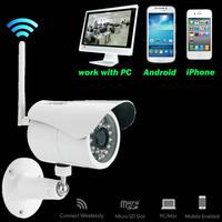 Camere IP POE Power Supply 24Pcs IR LED 1080p Network P2P CCTV Wireless Wifi IP Camera Prices