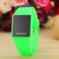 9 Colors New Fashion Silicone Led Watch Women Digital Watch Quarzt Watch AW-SB-1203