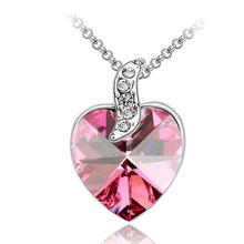 2014 hot sellr fashion crystal necklace palpitations sautoir pendant necklace