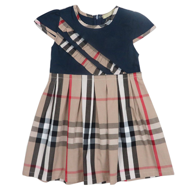 Designer Clothes For Kids Cheap New arrival baby dress famous