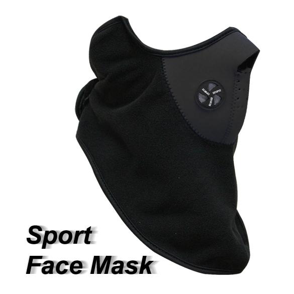 T2N2 New Neck Warm Face Mask Veil Guard Sport Snow Bike Black(China (Mainland))