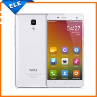 NO.1 Mi4 3G mobile phone  Android 4.2 MTK6582 Quad Core 5'' HD Screen 1280*720 1GB RAM 16GB ROM 8MP dual camera OTG BT WIFI GPS