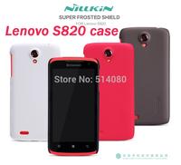 Lenovo S820 case NILLKIN super frosted shield case for Lenovo S820 free shipping