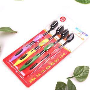 4 шт / комплект зубная щётка стоматологической помощи для мягкий кисть бамбуковый уголь зубная щётка