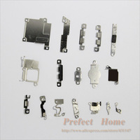 1 Set for iPhone 5C 100% Brand New Inner Accessories Inside Small Metal Parts Holder Bracket Shield Plate Set Kit 17Pcs