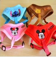 New arrival pet cartoon  embroider pet dog cat harness leash, pet harness, pet products.
