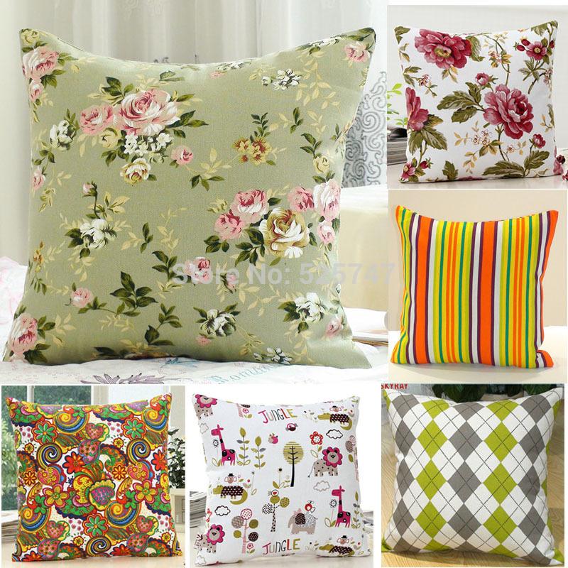 новые квадратные наволочки кровать диван подушка