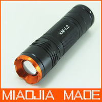 CREE XM-L2 LED Adjustable Zoomable Flashlight Lamp Light Torch Mini 5modes 26650 18650 AAA super T6