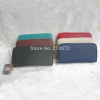Euramerican Fashion Women's Wallet PU Leather Double Zipper Long Wallets Holders Purse Clutch Wallet Coin Purse Retail&Wholesale