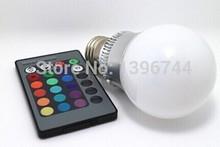 RGB LED Bulb 2014 New arrival LED RGB bulb E27 10W 15W AC 85-265V rgb led Lamp with Remote Control multiple colour led rgb lamp(China (Mainland))