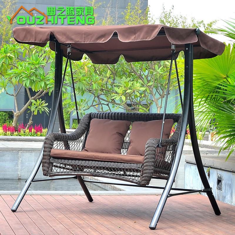 Shop popular double rocking hammock from china aliexpress for Balcony hammock