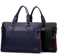 2014 Business leather handbag shoulder bag men's briefcase computer bag