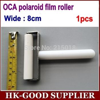 1 шт. 8 см руководство оса поляроид пленки ролик Bulldozed шин для жк-экран ламинирование ...