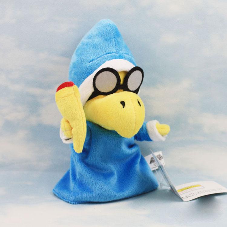 30 ШТ. New Super Mario Bros. плюшевые Куклы Мягкая Игрушка Magikoopa 17 см Оптовая Бесплатная Доставка