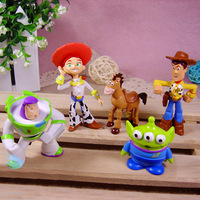 free shipping DHL 2013 New Arrival hot Toy Story 3 Buzz Lighter Woody Jessie action Figures SET Wholesale