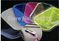OPP bag packing---CAR dashboard anti-slip pad,Silica rubber sticky washable car non-slip holder,multicolor Anti-slip mat