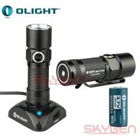 Olight S10R Baton Rechargeable LED Flashlight w/ RCR123A Battery