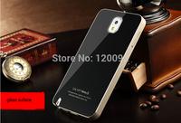 2014 Original Brand Ultra Thin Samsung Galaxy Note 3 Note3 N9000 Aluminum back Case Modern Stylish Metal Smooth Gloss Surface