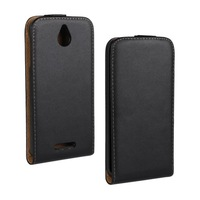 Black Color New Luxury For HTC Desire 510 Phone Cases Flip Leather Case Vertical Flip Cover Cell Phones Bag