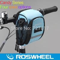 NEW Stlye ROSWHEEL 4-Colors Waterproof Outdoor Cycling MTB Bike Bicycle bag Frame Front Tube Bag folding bicycle handlebar bag