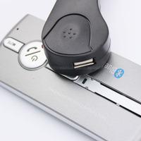 Free shipping 2014 New Wireless Speakerphone Handsfree Car Bluetooth Kit Multipoint Speaker with Sun Visor Clip HOT SALE