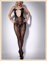 Sexy Stockings Sexy Underwear Strapless Bandage Garter Belt Geometry Fishnet Bodystocking Womens Sexy Bodysuits Jumpsuits