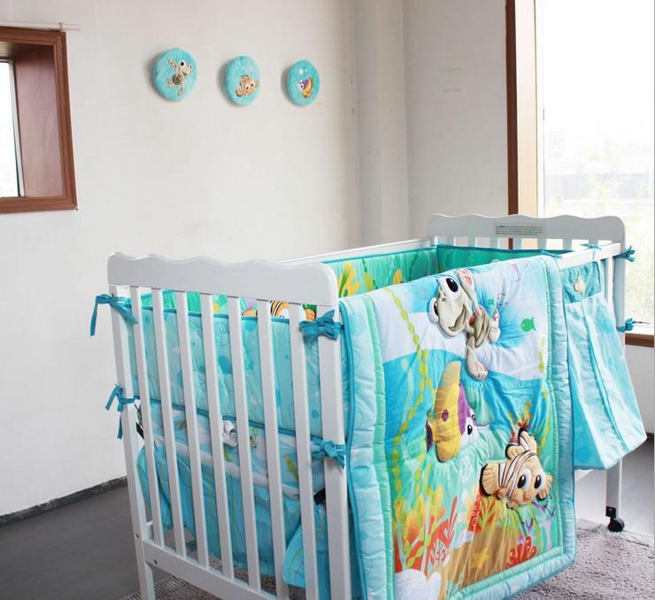 Nemo s reef 4 piece crib bedding set disney baby - Nemo Crib Set Submited Images