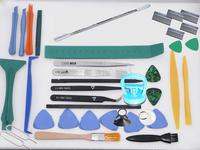 38 IN 1 Repair Open Tools Kit Metal Spudger Scraper anti-static tweezers Powerful LCD Sucker Dent Puller Pry for iPhone Table PC