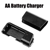 Hot Selling New Black Portable phone battery charger Emergency USB Charger with Flashlight for phone MP4 /MP3